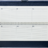 Планинг 2019 датированный SALERNO черный, кремовый блок 21670