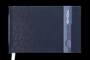 Еженедельник 2019 карманный датированный VELVET черный