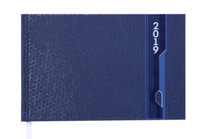 Еженедельник 2019 карманный датированный VELVET синий
