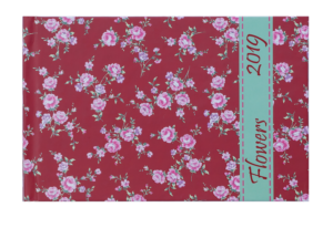 Еженедельник 2019 карманный датированный PROVENCE красный, твердая обложка