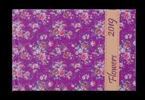 Еженедельник 2019 карманный датированный PROVENCE розовый, твердая обложка
