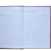 Ежедневник А6 недатированный QUATTRO розовый и бирюзовый 22119