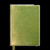 Ежедневник А5 недатированный METALLIC желтый, кремовый блок