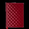 Ежедневник А5 недатированный DONNA красный, кремовый блок