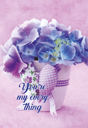 Ежедневник А5 недатированный ROMANTIC фиолетовый