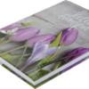 Ежедневник А5 недатированный ROMANTIC фиолетовый 21882