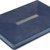 Ежедневник А5 недатированный MEANDER синий, кремовый блок 22008