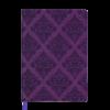 Ежедневник А5 недатированный CASTELLO VINTAGE вишневый, кремовый блок