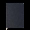 Ежедневник А5 недатированный FLEUR черный, кремовый блок