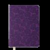 Ежедневник А5 недатированный FLEUR вишневый, кремовый блок