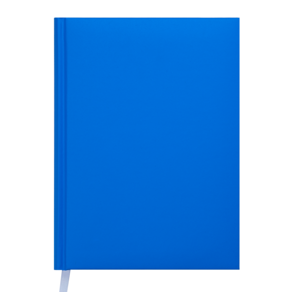 Ежедневник А5 недатированный MEMPHIS голубой