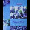 Книга канцелярская BOHO CHIC А4, 96 листов, твердая обложка, клетка, синий