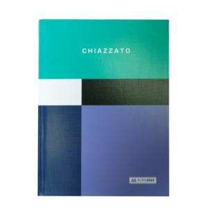 Блокнот CHIAZZATO, А5, 80л., гибкая обложка, в клетку, бирюзовый