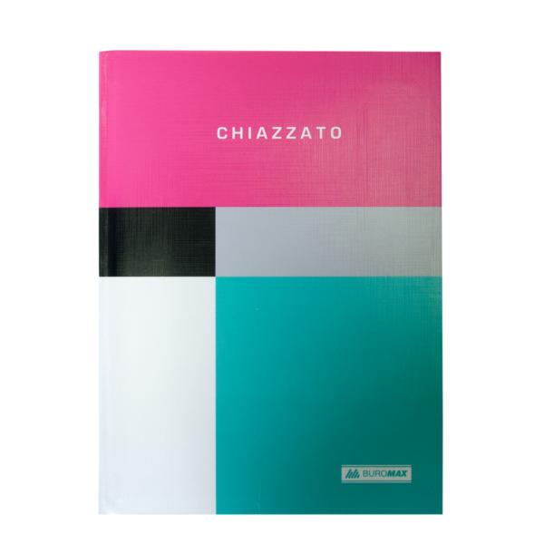 Блокнот CHIAZZATO, А5, 80л., гибкая обложка, в клетку, розовый