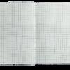 Блокнот FLORA, А6, 64л., твердая обложка, кремовый блок в клетку, фиолетовый 22933