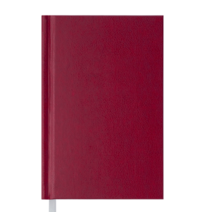 Ежедневник А6 недатированный STRONG, бордовый