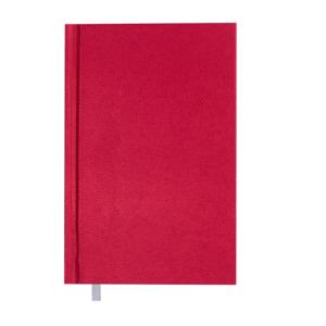 Ежедневник А6 недатированный PERLA, красный