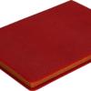 Ежедневник А6 недатированный AMAZONIA красный, золотой срез 22305