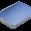 Ежедневник А6 недатированный METALLIC синий, тонированный срез 22322