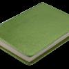 Ежедневник А6 недатированный METALLIC зеленый, тонированный срез 22323