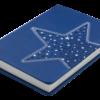 Ежедневник А6 недатированный STELLA синий 22405
