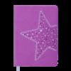 Ежедневник А6 недатированный STELLA фиолетовый