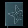 Ежедневник А6 недатированный STELLA темно-бирюзовый
