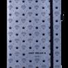 Блокнот деловой RELAX, А5, 96л., обложка из кожзама, чистые листы, серебро