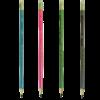 Набор карандашей ESTILO НВ, 4 шт. круглые с ластиком, деревянные 22996