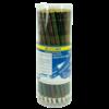 Карандаш BOSS НВ круглый с ластиком, деревянный, разноцветные 23008