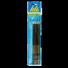 Набор карандашей BOSS НВ, 4 шт. круглые с ластиком, деревянные