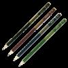 Набор карандашей BOSS НВ, 4 шт. круглые с ластиком, деревянные 23007