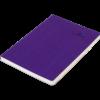 Блокнот деловой COLOR TUNES, А5, 96л., обложка из кожзама, чистые листы, фиолетовый