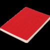Блокнот деловой COLOR TUNES, А5, 96л., обложка из кожзама, чистые листы, красный