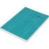 Блокнот деловой COLOR TUNES, А5, 96л., обложка из кожзама, чистые листы, бирюзовый