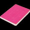 Блокнот деловой COLOR TUNES, А5, 96л., обложка из кожзама, чистые листы, розовый