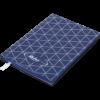 Блокнот деловой RELAX, А5, 96л., обложка из кожзама, чистые листы, темно-синий