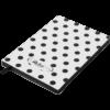 Блокнот деловой RELAX, А5, 96л., обложка из кожзама, чистые листы, белый