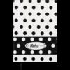 Блокнот деловой RELAX, А5, 96л., обложка из кожзама, в линию, белый 22593