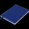 Блокнот деловой TOUCH ME, А5, 96л., обложка из кожзама, чистые листы, т-синий