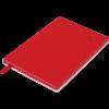 Блокнот деловой TOUCH ME, А5, 96л., обложка из кожзама, чистые листы, красный