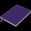 Блокнот деловой TOUCH ME, А5, 96л., обложка из кожзама, чистые листы, фиолетовый