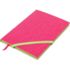 Блокнот деловой LOLLIPOP, А5, 96л., обложка из кожзама, на резинке, чистые листы, розовый
