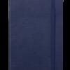 Блокнот деловой COLOR TUNES, А5, 96л., обложка из кожзама, чистые листы, т-синий