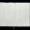 Блокнот деловой CHERIE, А5, 96л., гибкая обложка из кожзама, в клетку, темно-синий 24582