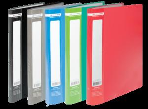 Папка пластиковая А4 с 30 файлами JOBMAX