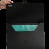 Портфель пластиковый А4 JOBMAX, 1 отделение, гладкий пластик 24204