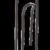 Держатель для бумаг СКРЕПКА 150х80мм, металлическая,черная