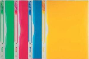 Папка-уголок А4 на 5 отделений (4 цвета)