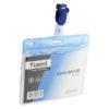 Клип для идентификатора пластиковый AXENT (представлен в 3-х цвета) 24915
